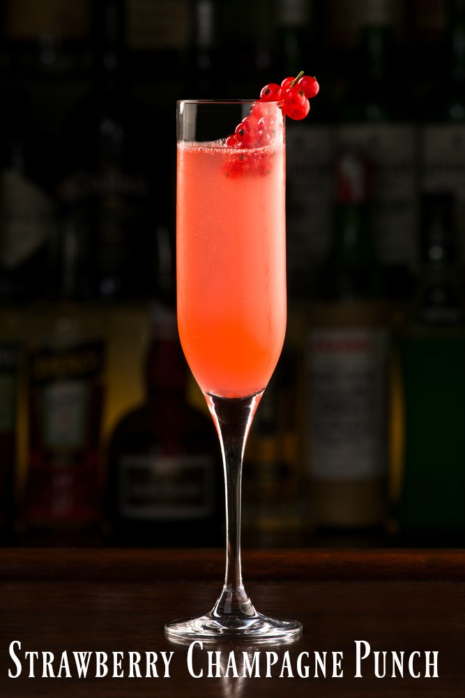 strawbery-champagne-punch