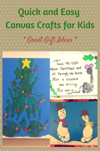 Quick and Easy Canvas Crafts for Kids