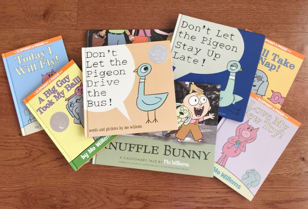 Assortment of Mo Willems Books
