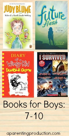 Books for boys: recommendations for ages 7-10