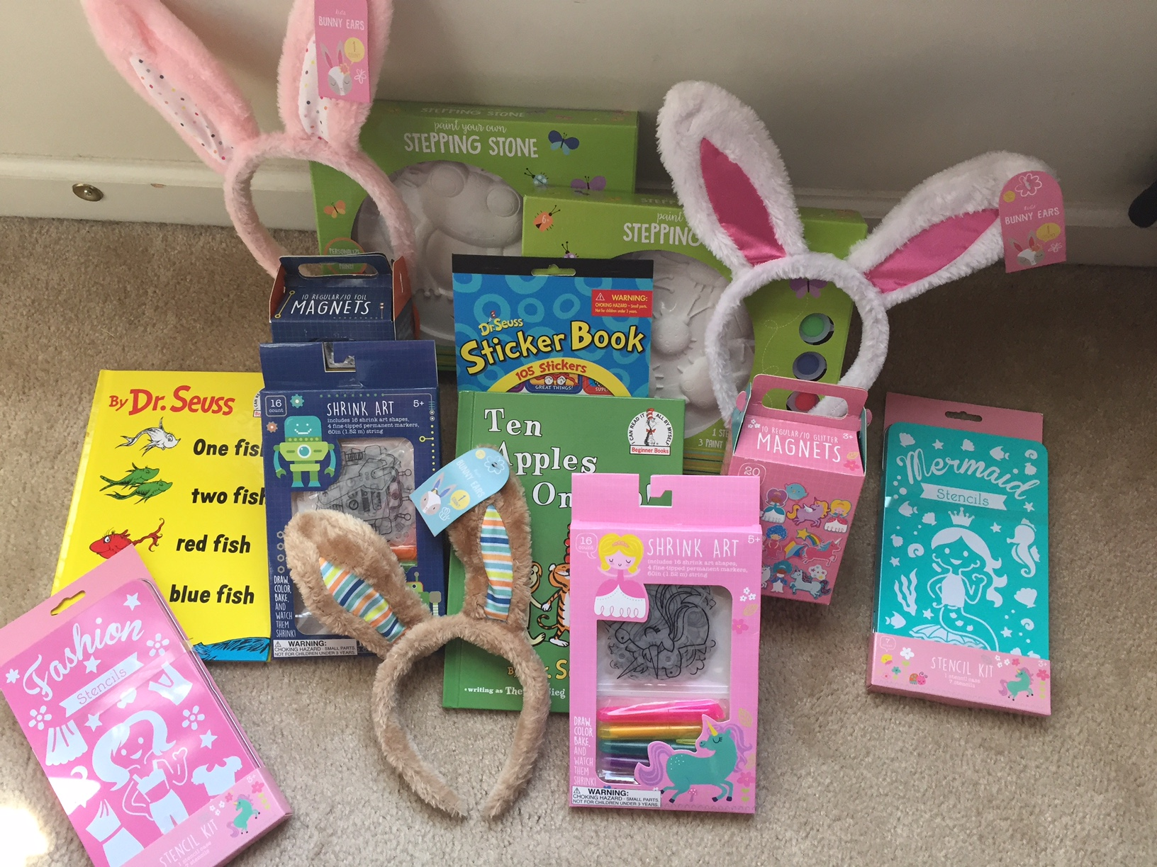 An almost sugar free easter basket easter basket ideas negle Image collections