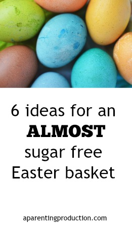 Ideas for an almost sugar free Easter basket