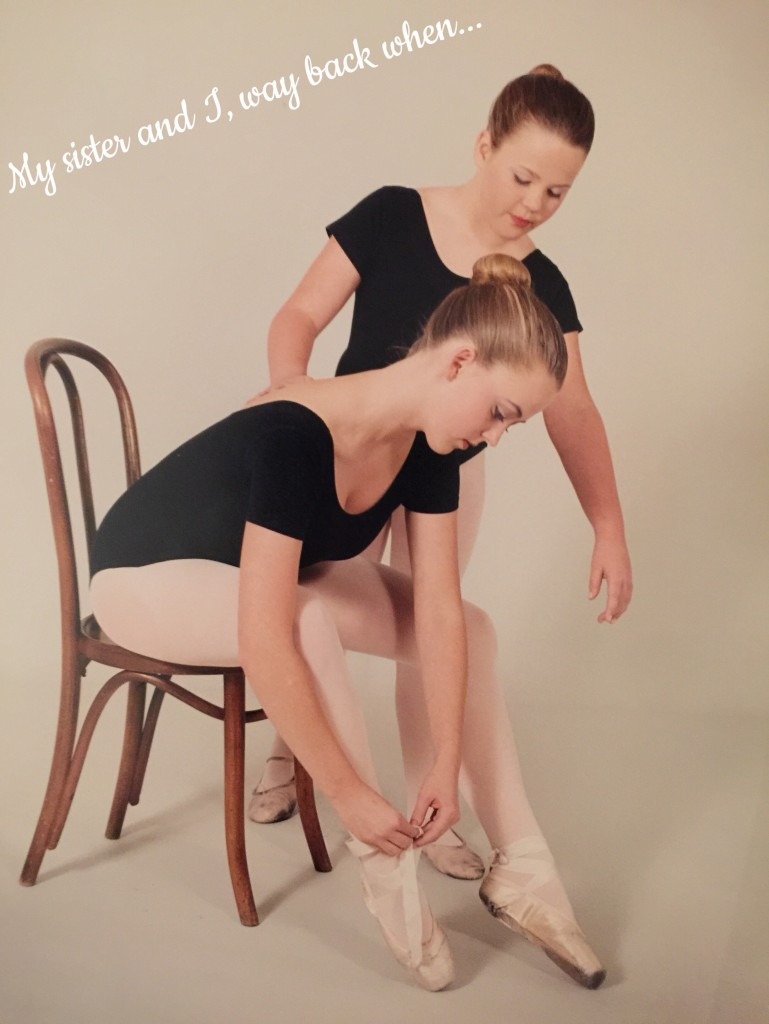 Sisters Ready for Ballet