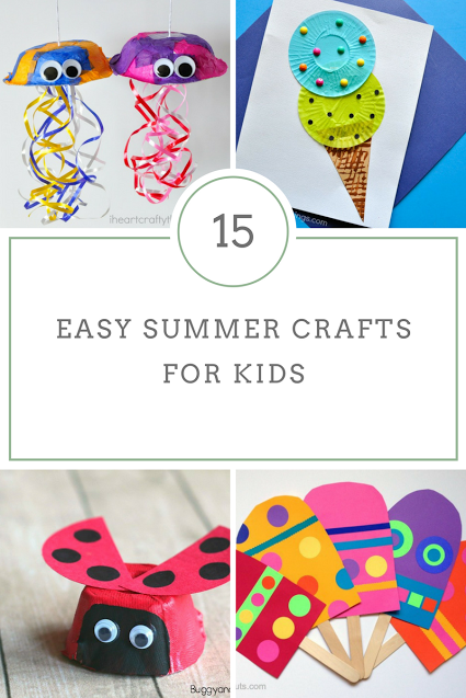 15 Summer Crafts For Young Kids