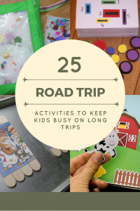 25 Road Trip Activities to Keep Young Kids Busy