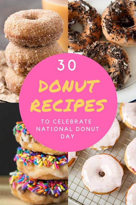 30 donut recipes