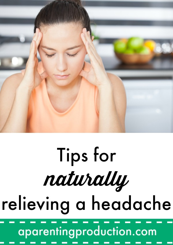Headache relief tips