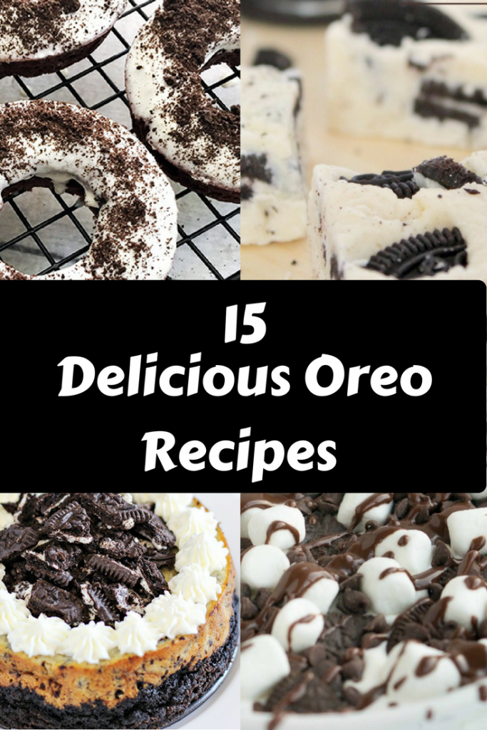 Who loves an OREO? I do. Check out these recipes.