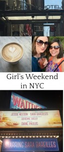 4 steps to a perfect Girl's Weekend in New York City