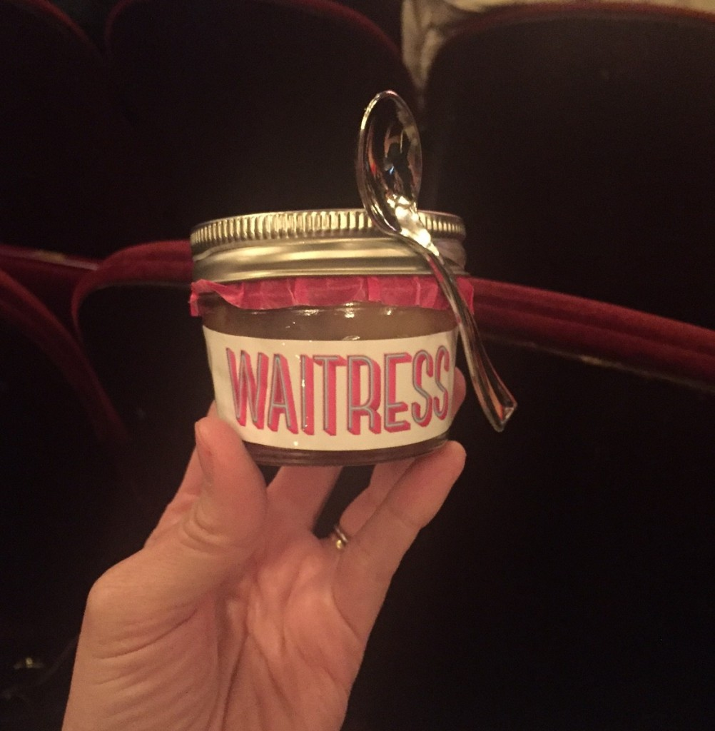 Pie at Waitress the Musical