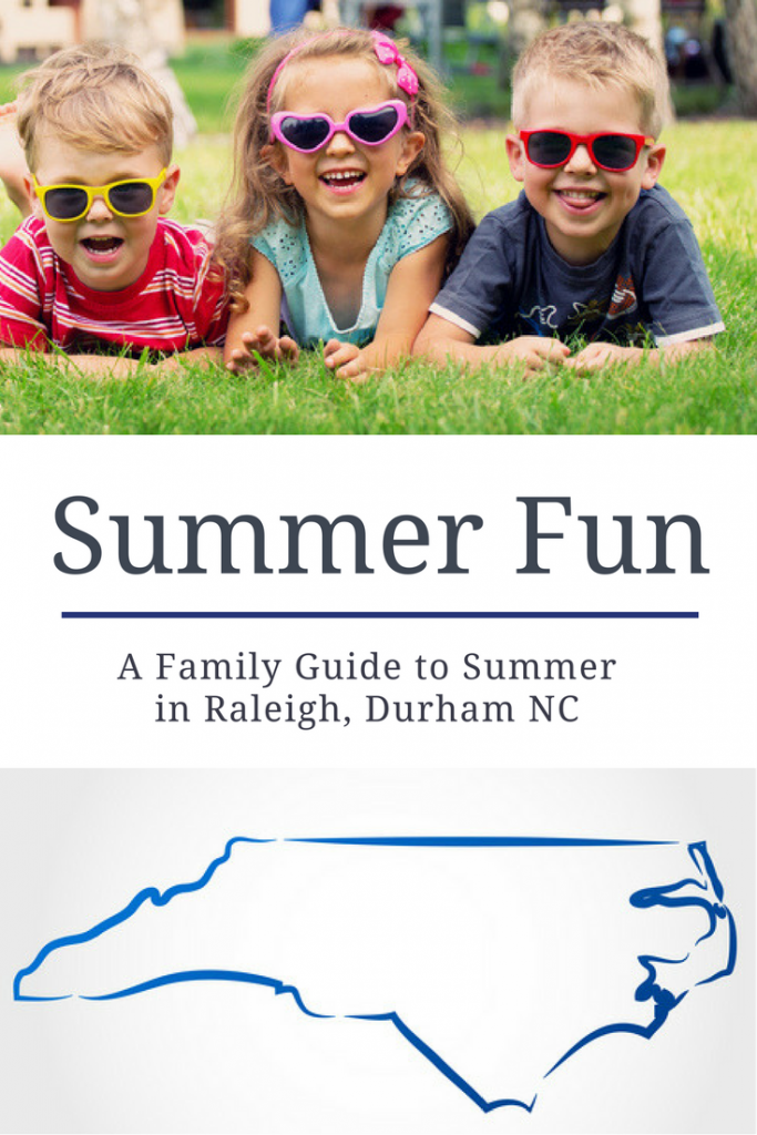 Summer activities in the triangle