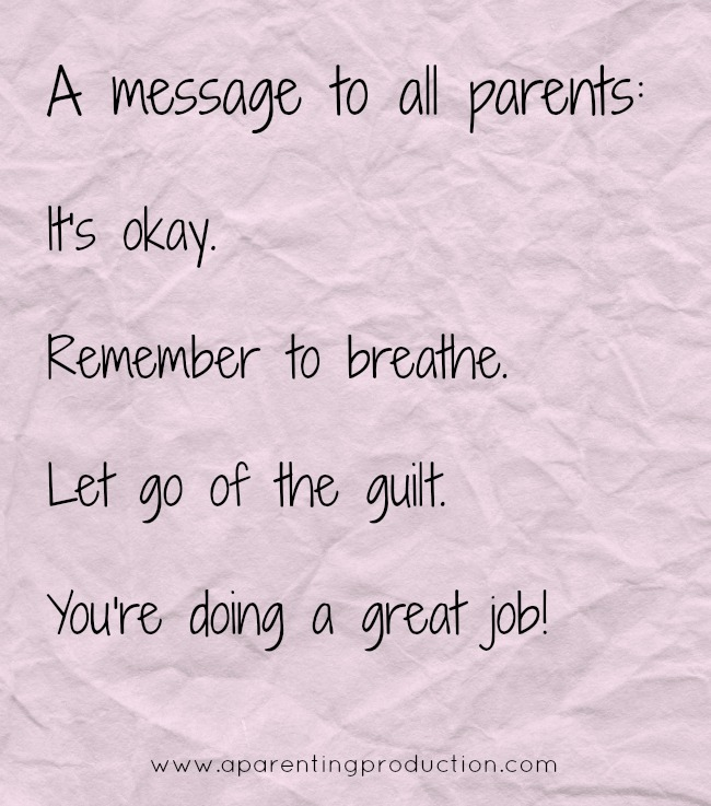 A MESSAGE TO PARENTS
