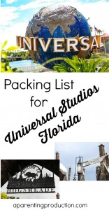 Packing list for Universal