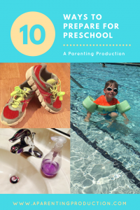 Preschool Prep: 10 Ways in 10 Days