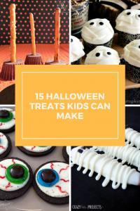 Halloween treats kids can make