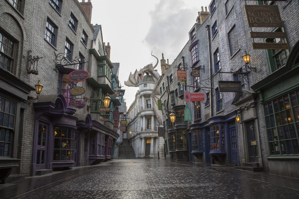 diagon alley, universal studios florida