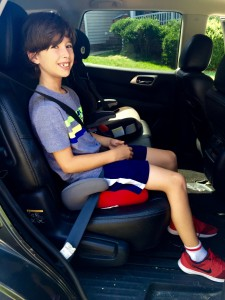 Yes, my kid still uses a booster seat