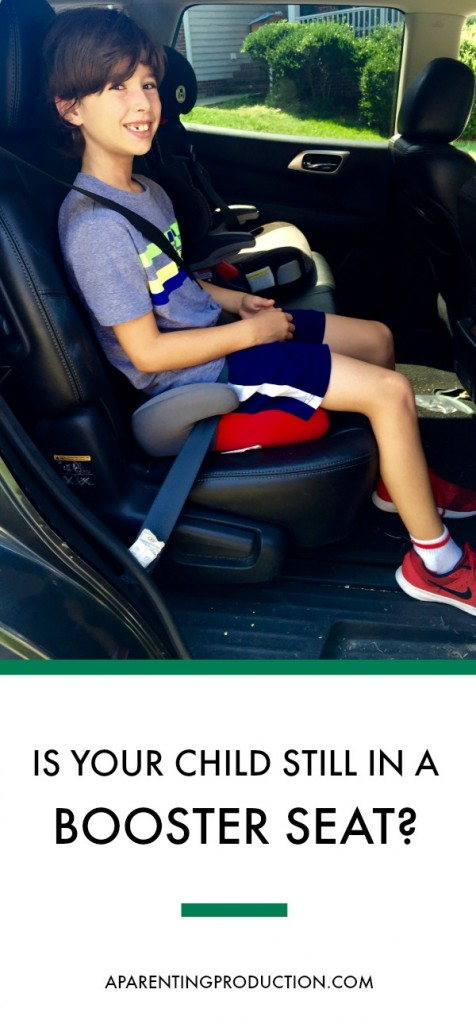 Is your child still in a booster seat