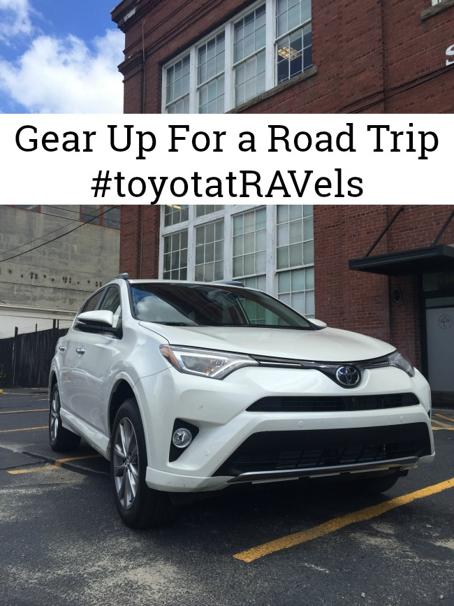 RAV4 - Perfect for a road trip