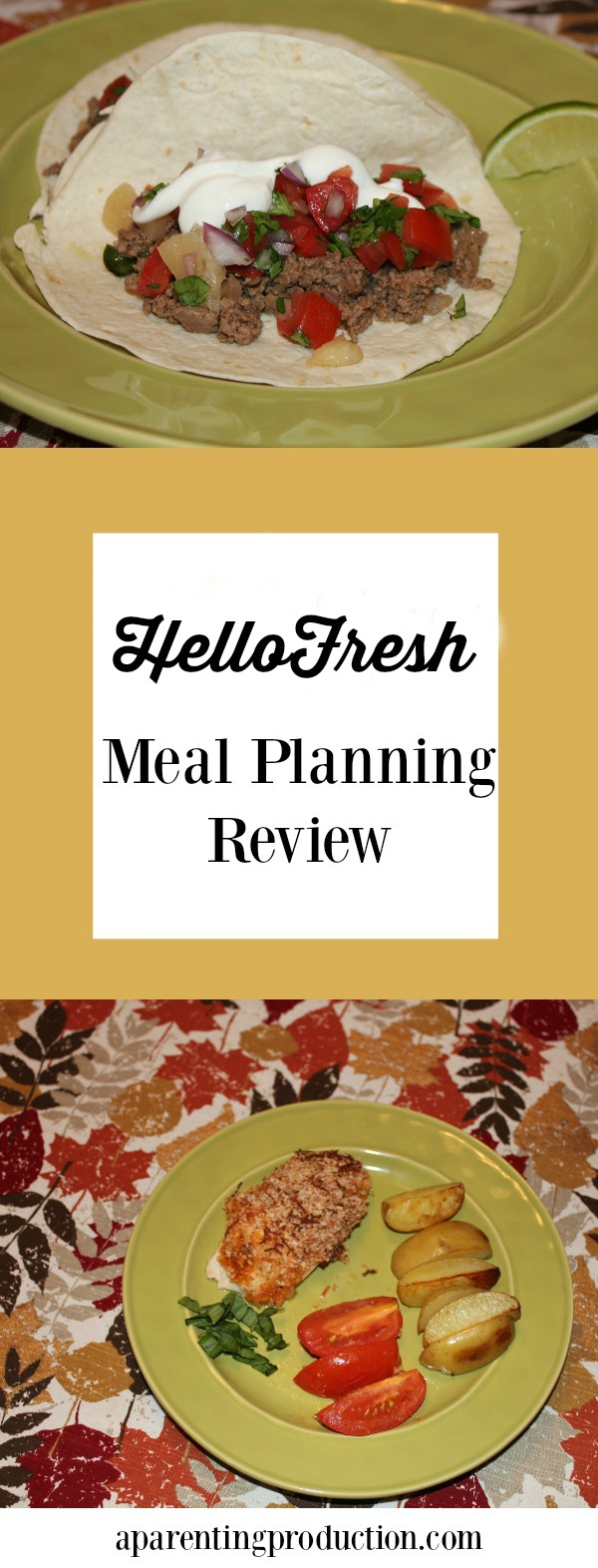 Hello Fresh - worth a look for meal planning