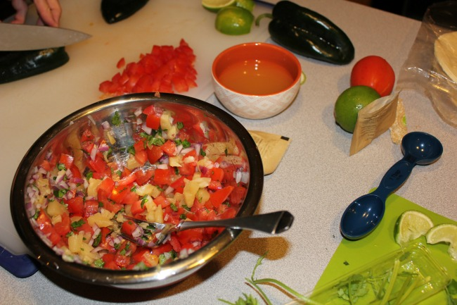hello fresh - salsa
