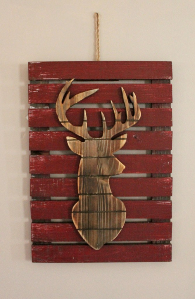 Reindeer sign from At home