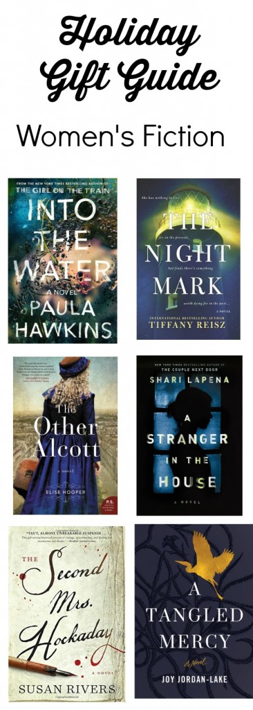 Women's Fiction Holiday Gift Guide from aparentingproduction.com