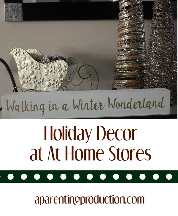 holiday decor from At Home stores