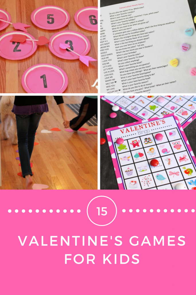 Valentine Games for the kids