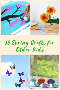 15 spring crafts perfect for elementary-aged kids