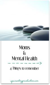 How moms can take better care of their mental health