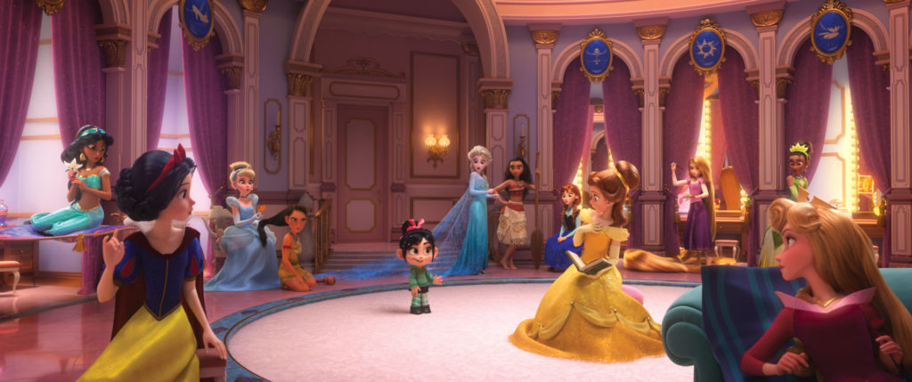 One Mom's Thoughts on Ralph Breaks the Internet - princesses