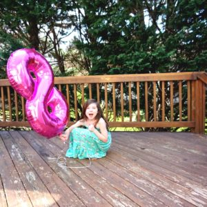 A letter to my daughter on her 8th birthday