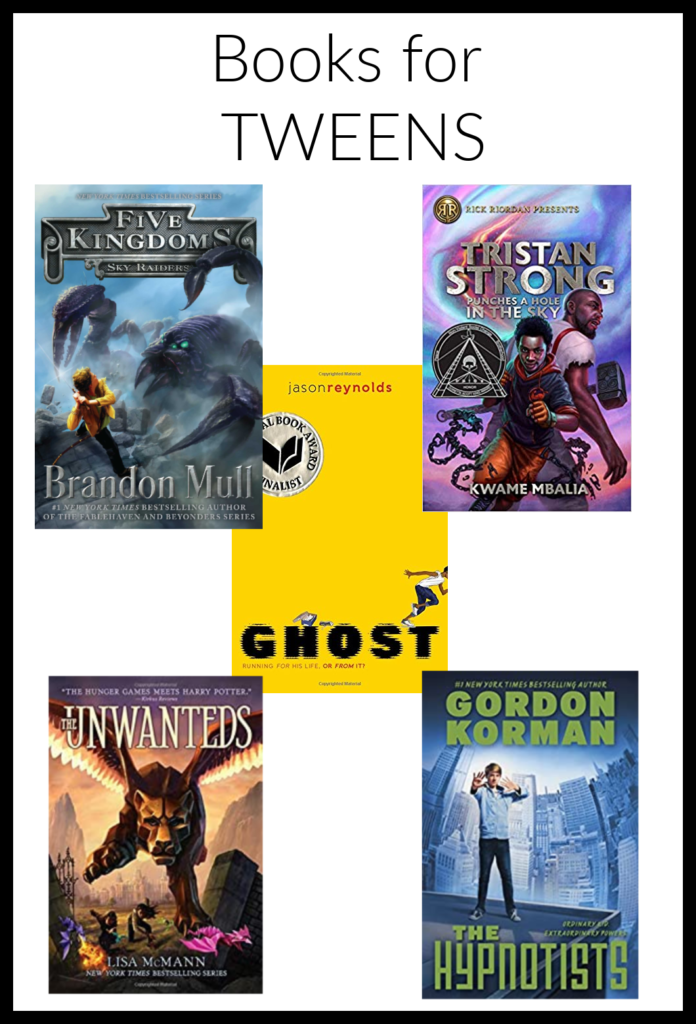 book recommendations for tweens